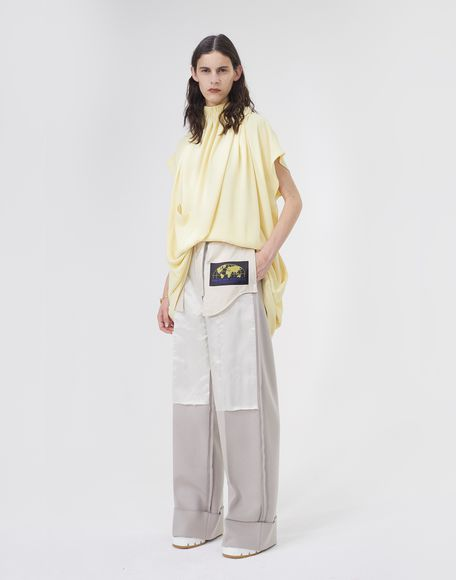 MM6 MAISON MARGIELA Pantaloni sartoriali Reversed Pantalone Donna r