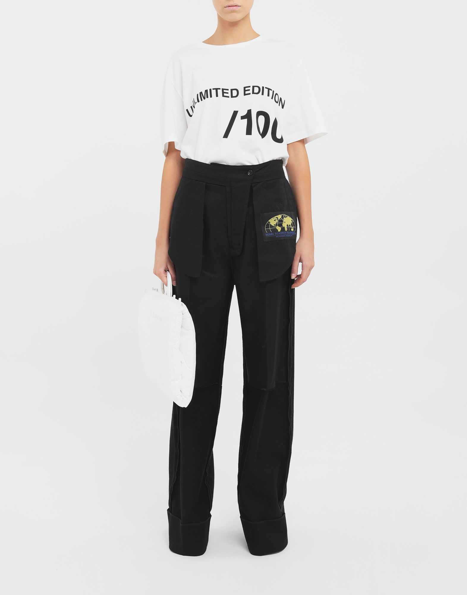 MM6 MAISON MARGIELA Reversed tailored trousers Trousers Woman d