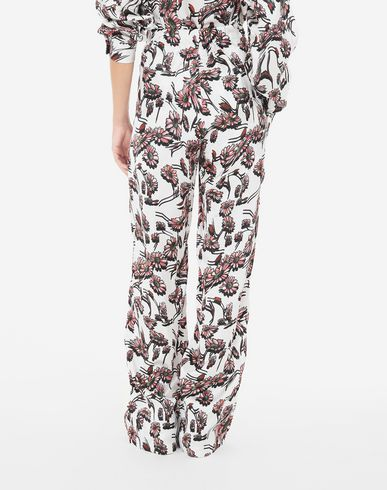 PANTS Flower trousers White