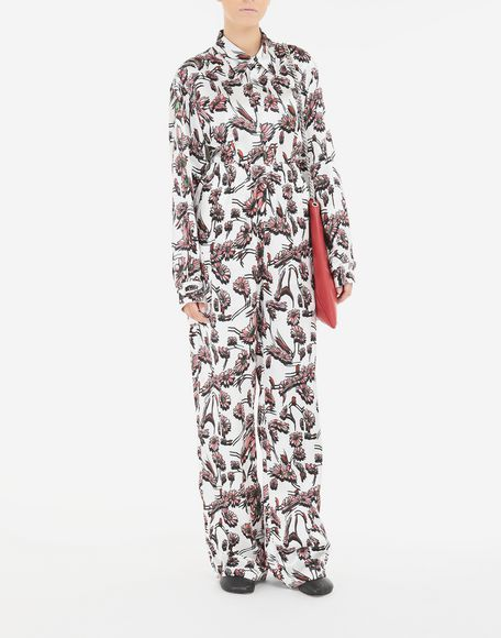 MM6 MAISON MARGIELA Flower trousers Casual pants Woman d