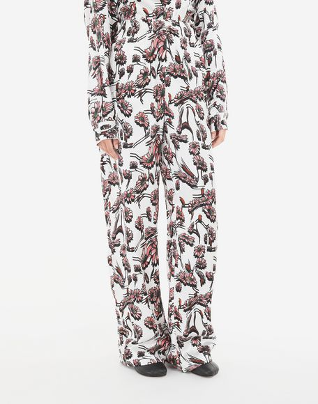 MM6 MAISON MARGIELA Flower trousers Casual pants Woman r