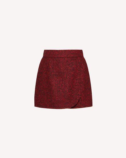 REDValentino Shorts Woman SR0RFB8541B L58 a