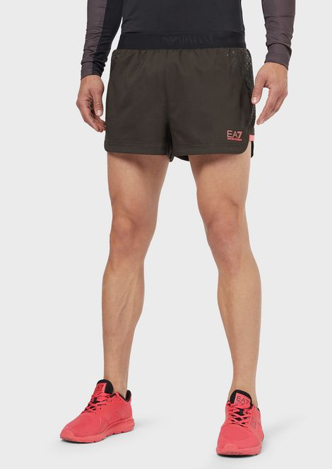 Pantalones cortos de tejido técnico