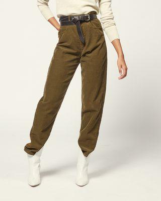 ISABEL MARANT ÉTOILE Jeans Dame HOSE CORSYV r