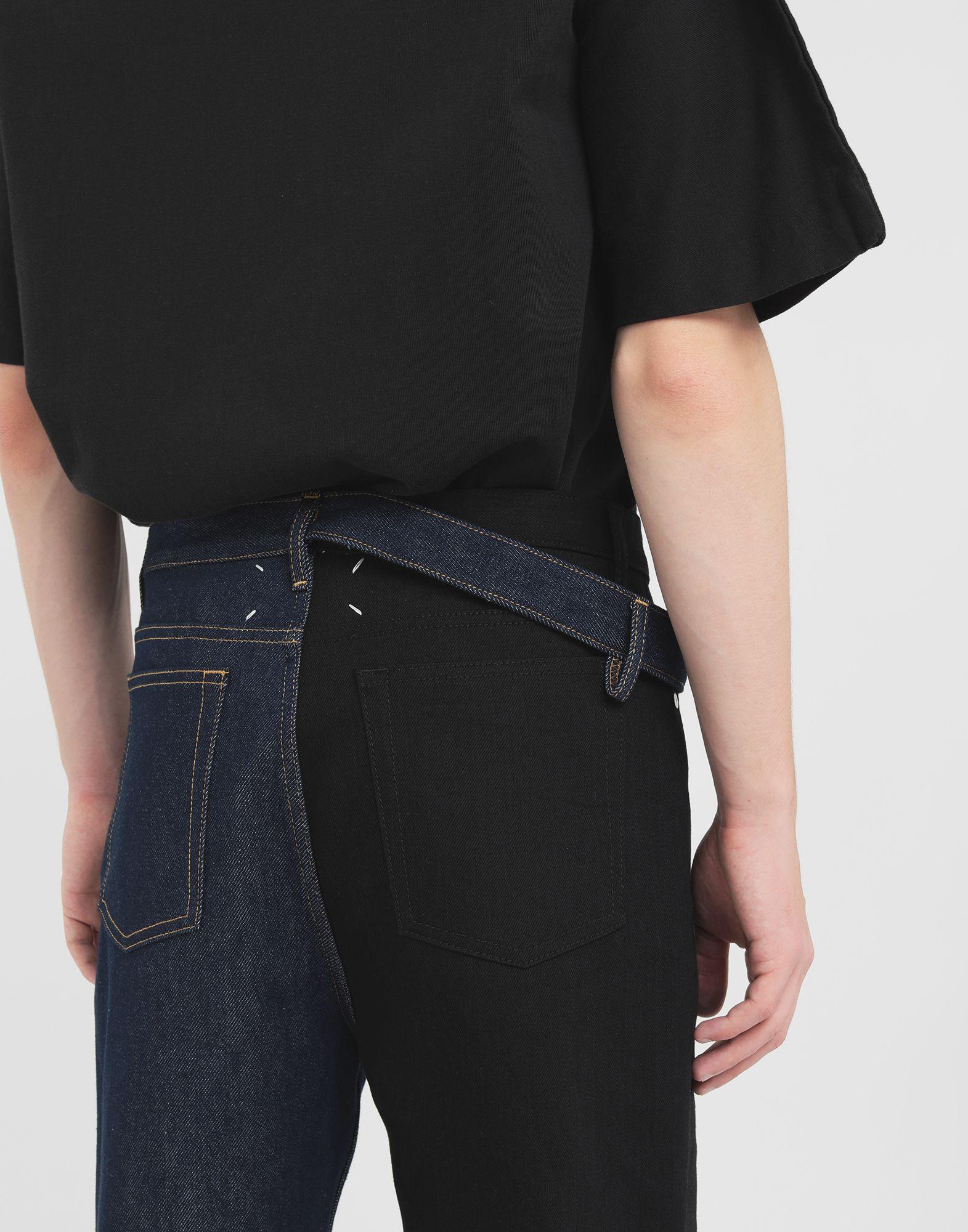 MAISON MARGIELA Spliced jeans Jeans Man b