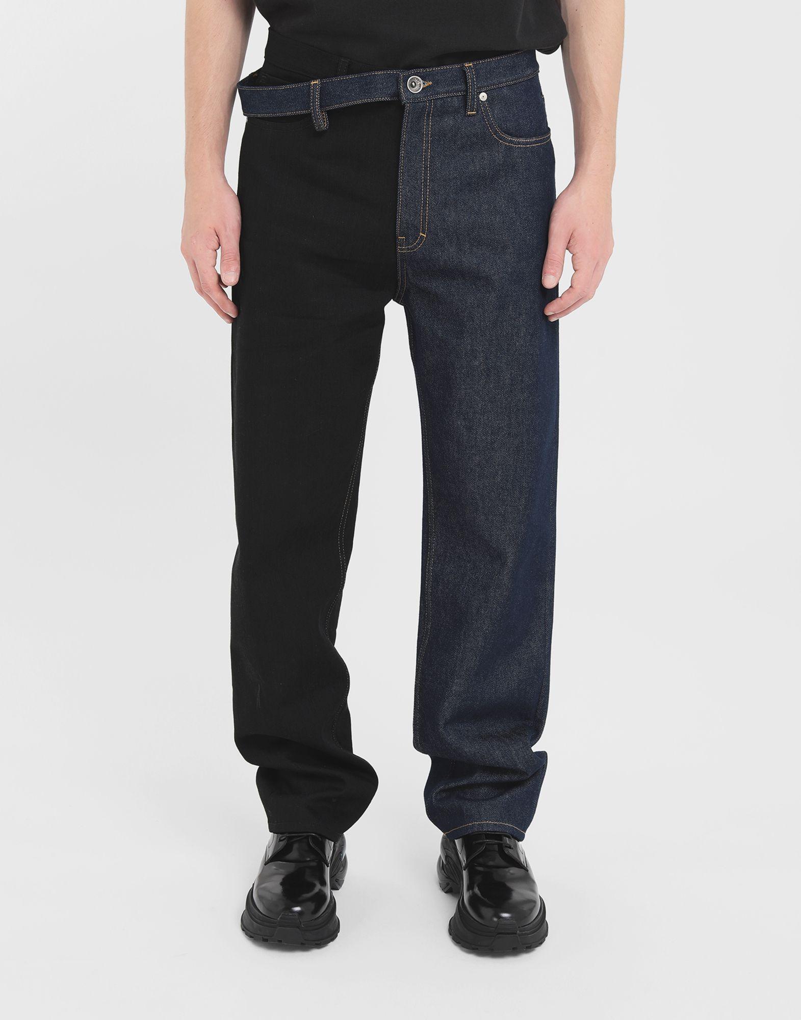 MAISON MARGIELA Spliced jeans Jeans Man r