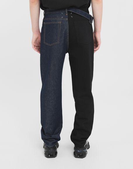 MAISON MARGIELA Spliced jeans Jeans Man e