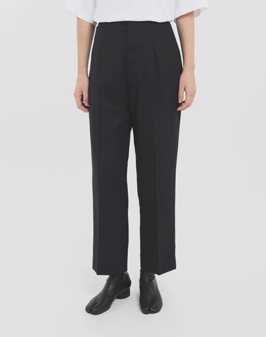 TROUSERS Tailored pants Blue
