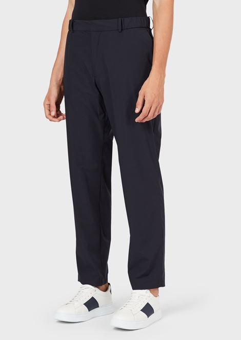 Travel Essential trousers in matt stretch nylon