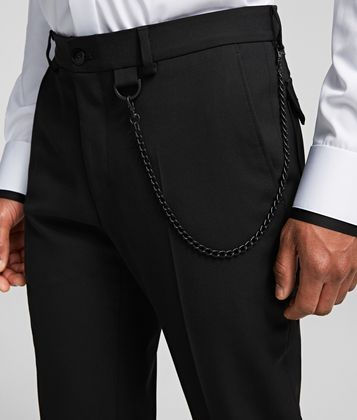 KARL LAGERFELD CHAIN TROUSERS