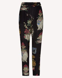 REDValentino Trousers Woman SR0MD00T4Q4 0NO a