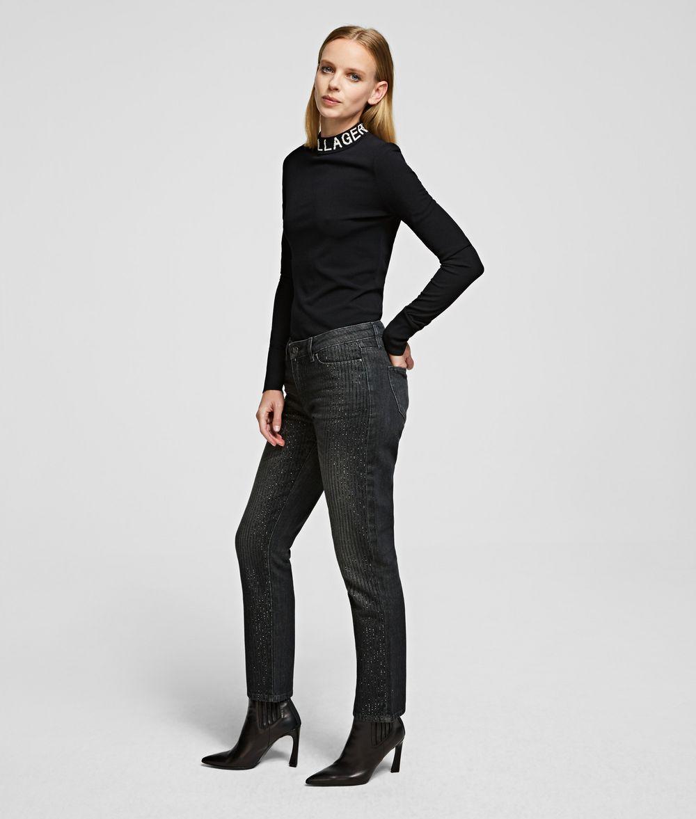 KARL LAGERFELD Girlfriend Jeans Pants Woman d