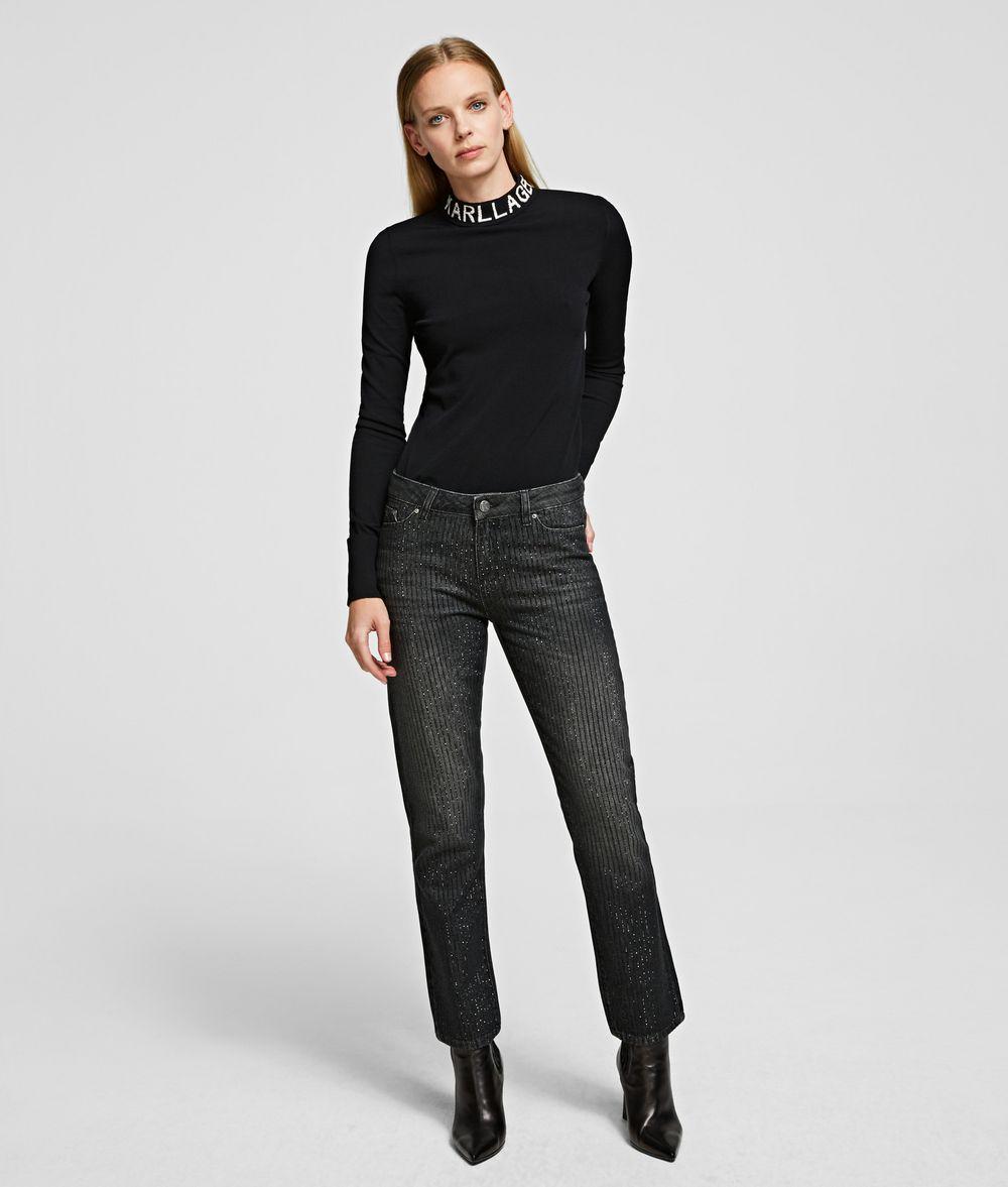 KARL LAGERFELD Girlfriend Jeans Pants Woman f
