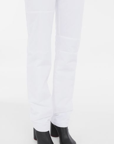 PANTS Padded cotton pants White