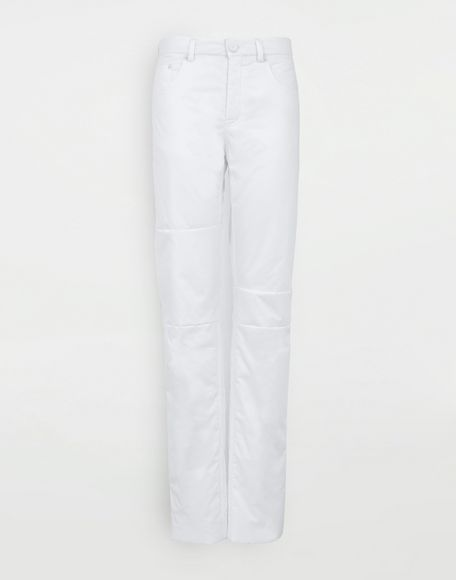 MM6 MAISON MARGIELA Padded cotton pants Casual pants Woman f
