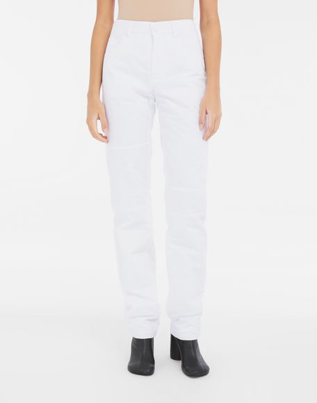 MM6 MAISON MARGIELA Padded cotton pants Casual pants Woman r