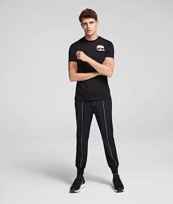 KARL LAGERFELD SLIM TRAVEL PANTS