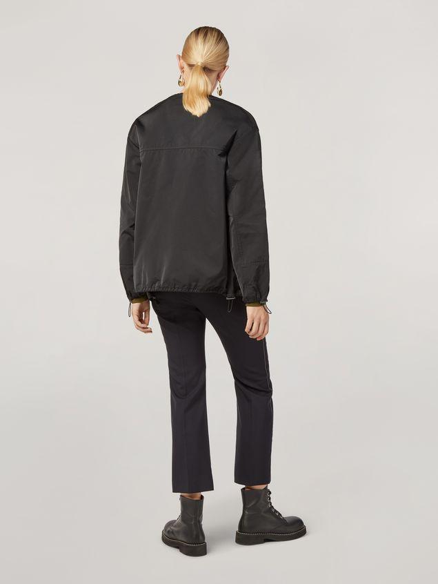 Marni Pantalón de lana tropical con cinturones en la cintura Mujer