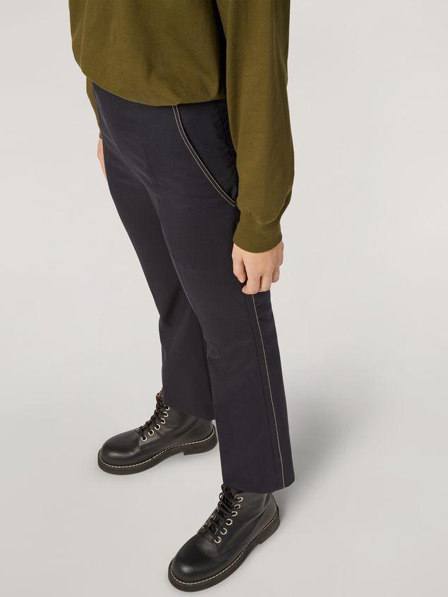 Marni Pantalón de lana tropical con cinturones en la cintura Mujer - 5