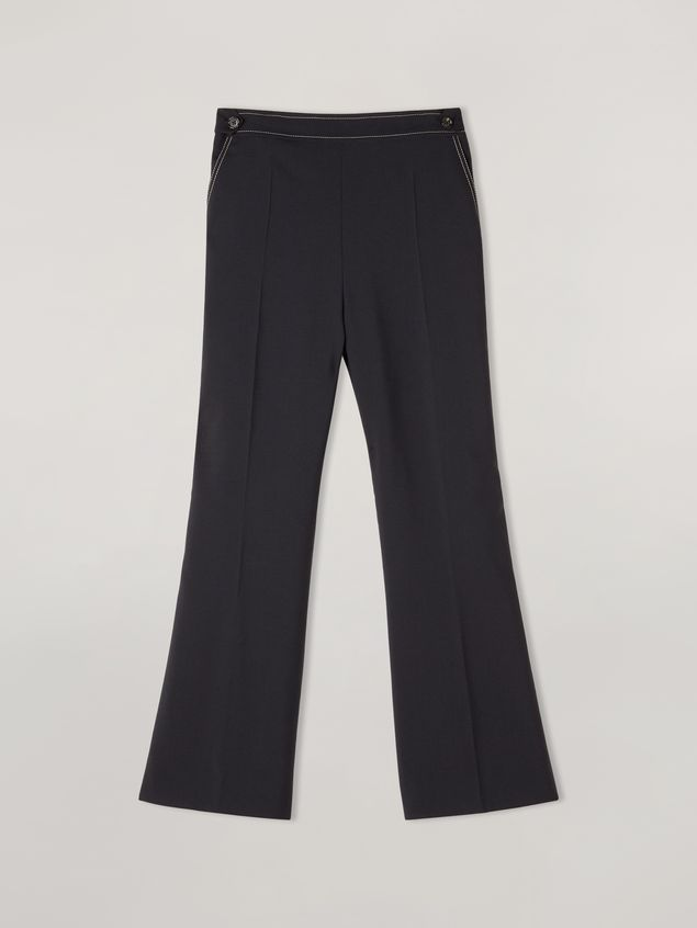 Marni Trousers in tropical wool with waist belts Woman - 2