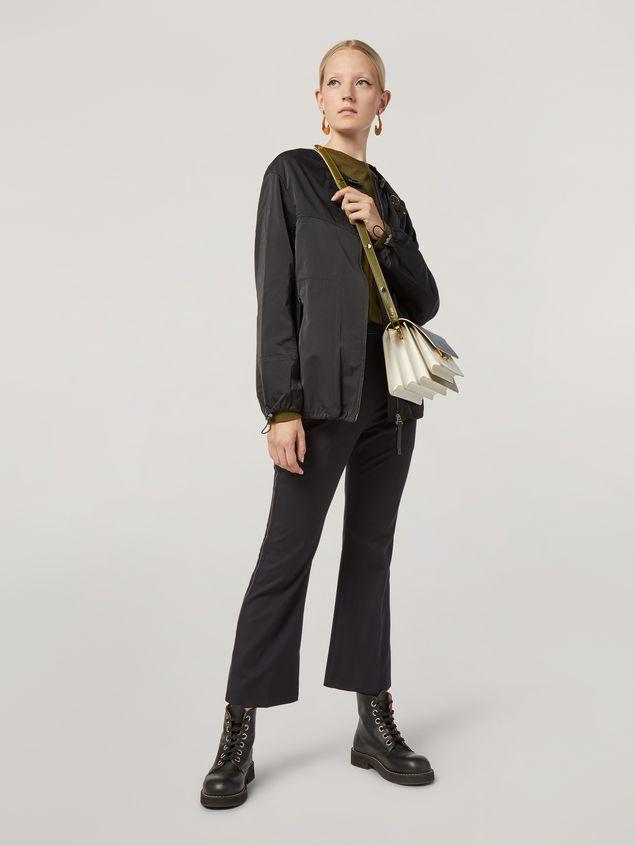 Marni Pantalón de lana tropical con cinturones en la cintura Mujer - 1