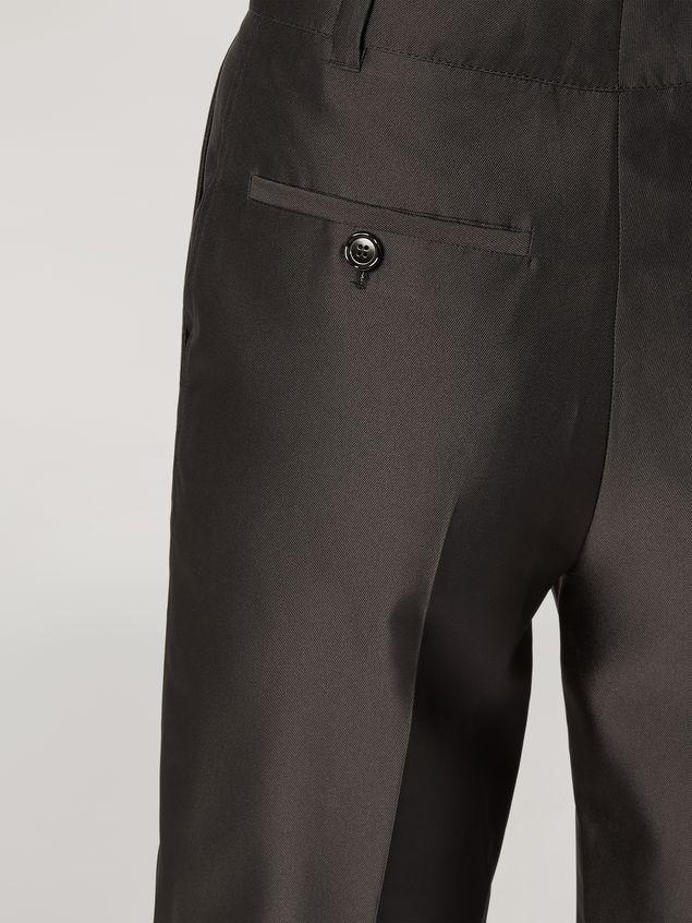 Marni Hose aus technischer Mikadoseide mit anliegendem Bein Damen - 4