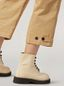 Marni Trousers in cotton and linen drill with belted bottom Woman - 5