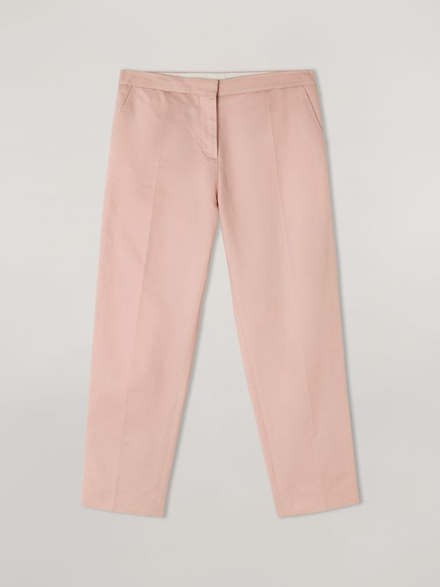 Marni Pencil trousers in cotton and linen drill  Woman - 2