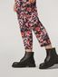 Marni Trousers in viscose sablé Buds print with elasticized waist Woman - 5