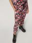 Marni Trousers in viscose sablé Buds print with elasticized waist Woman - 4