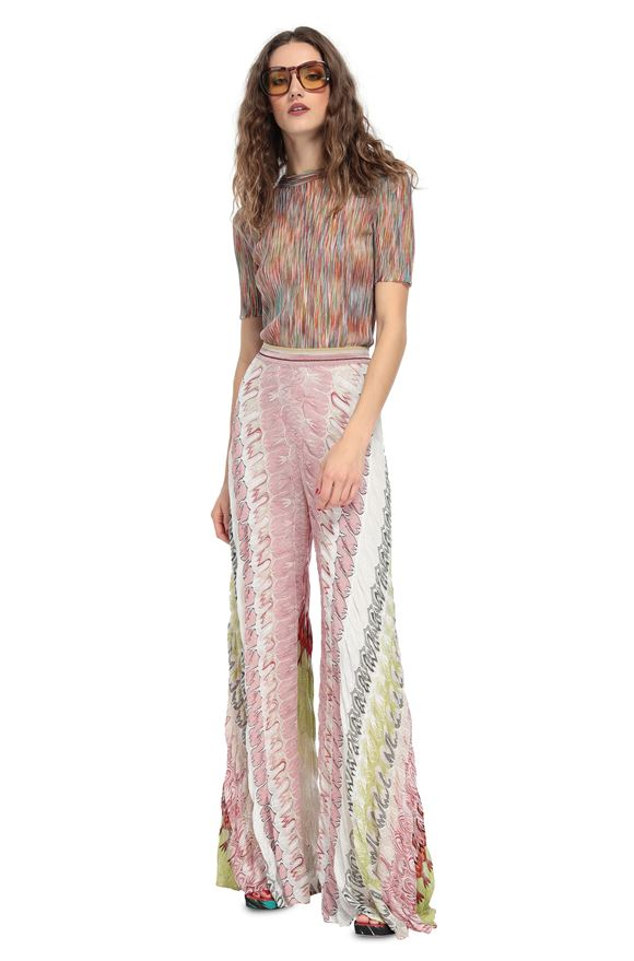 MISSONI Pantalones Mujer, Vista frontal