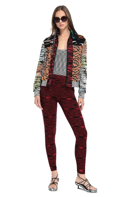 MISSONI Leggings  Red Woman - Back