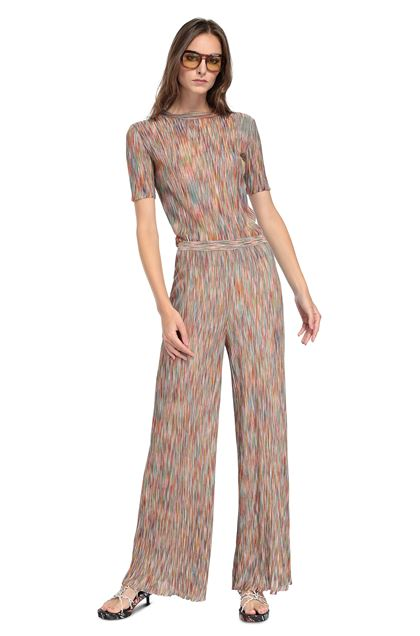 MISSONI Pants Orange Woman - Back