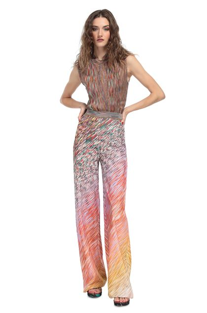MISSONI Trouser Orange Woman - Back
