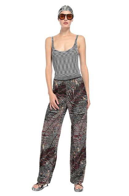 MISSONI Pants Black Woman - Back