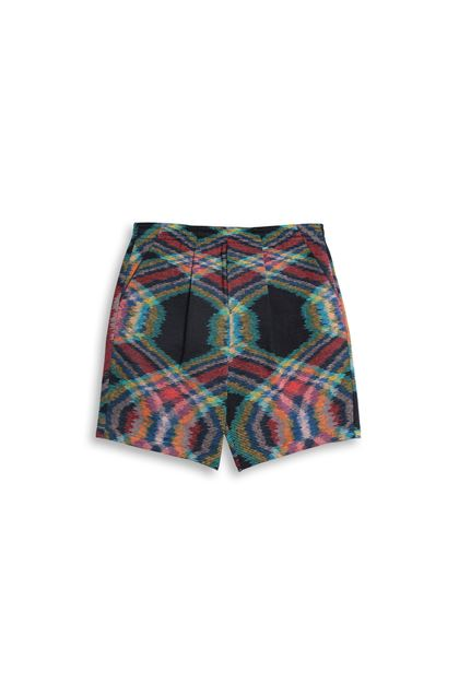 MISSONI Shorts Dark blue Man - Back