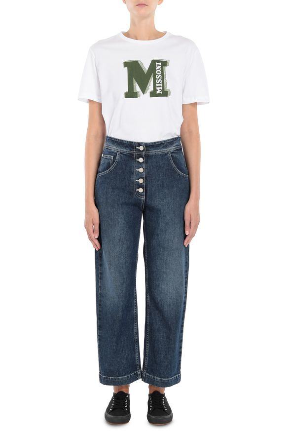 M MISSONI Jeans Woman, Frontal view