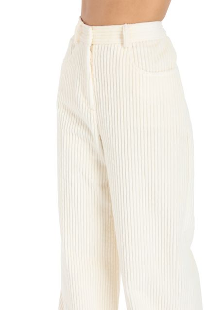 M MISSONI Pants Beige Woman - Front