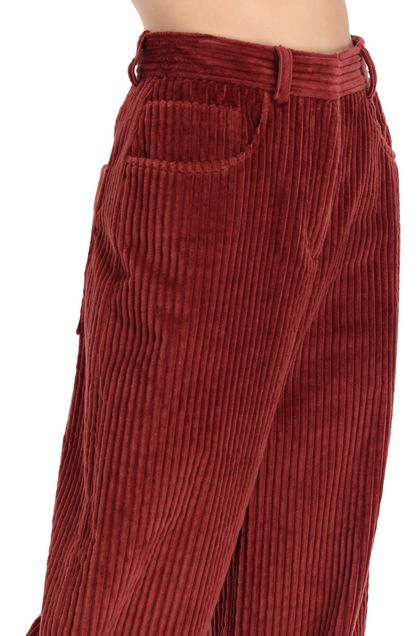 M MISSONI Pants Brick red Woman - Front