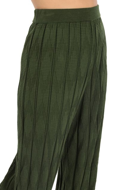 M MISSONI Pants Military green Woman - Front
