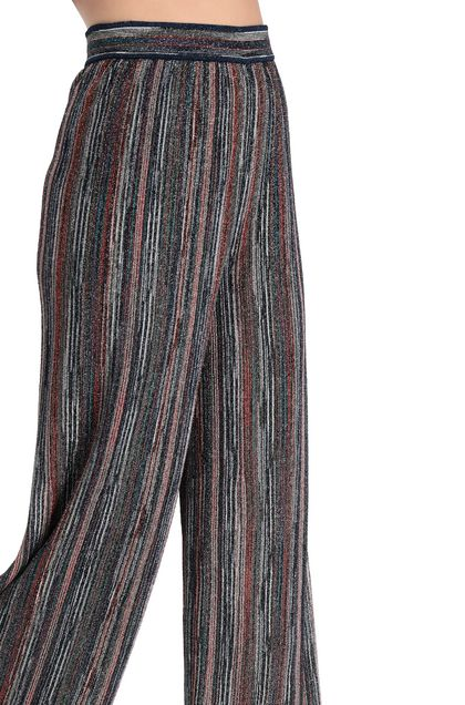 M MISSONI Pants Blue Woman - Front