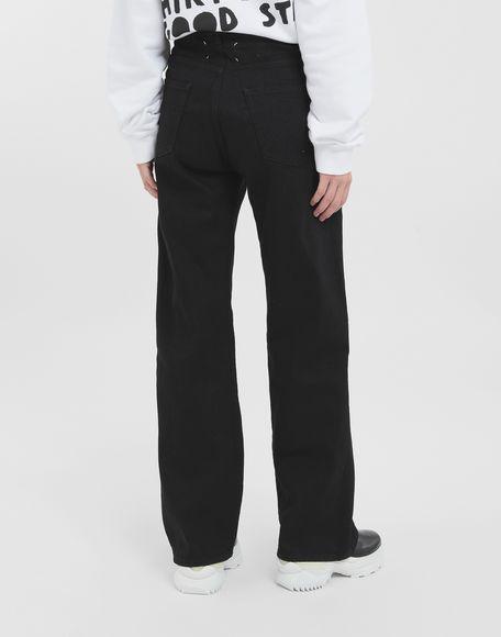 MAISON MARGIELA Décortiqué jeans Jeans Woman d