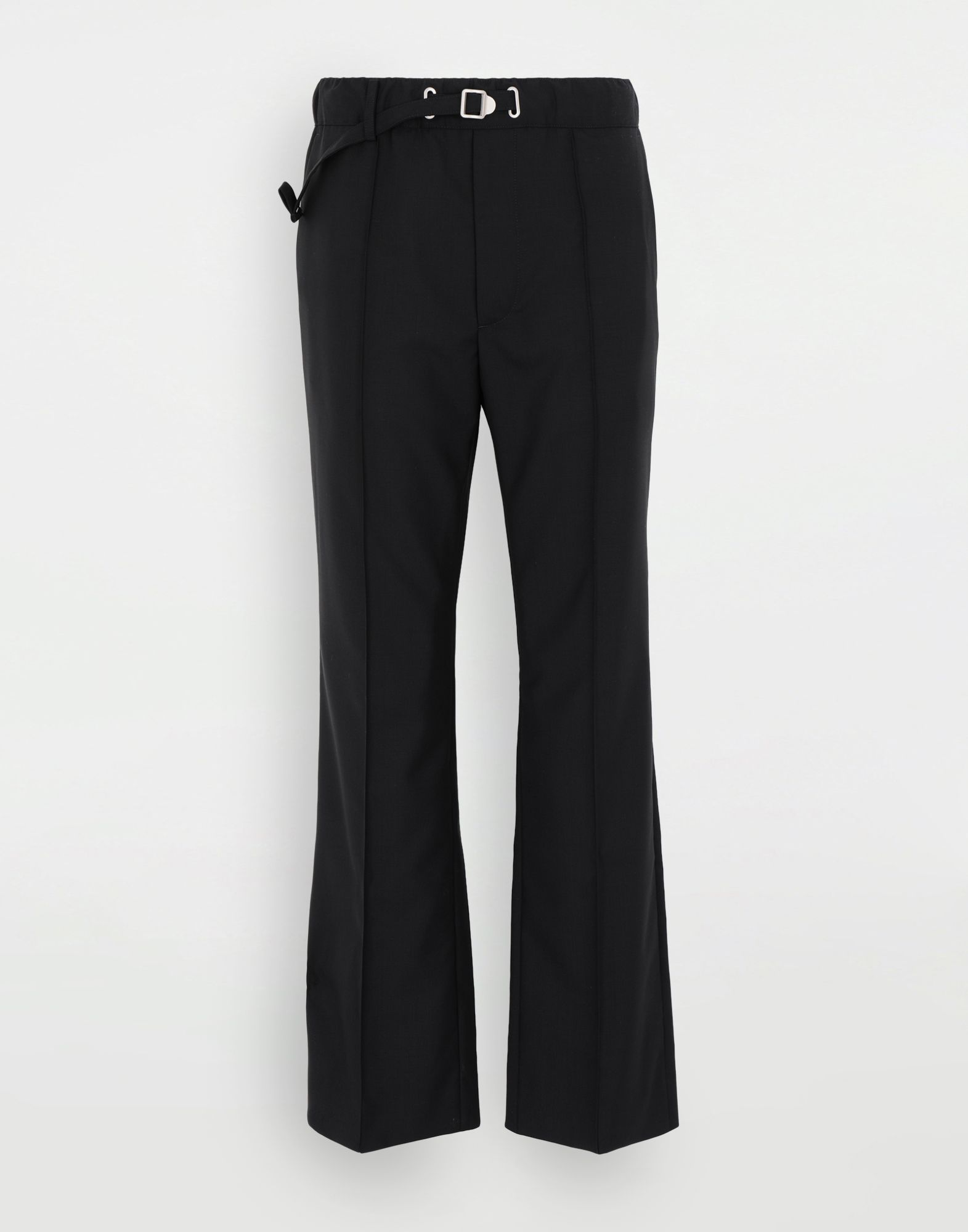 MAISON MARGIELA Adjustable wool trousers Trousers Man f