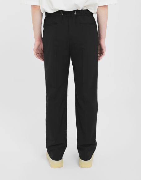 MAISON MARGIELA Adjustable wool trousers Trousers Man e