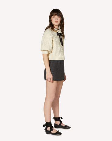 REDValentino SR0RFB854H5 AU8 Shorts Woman d