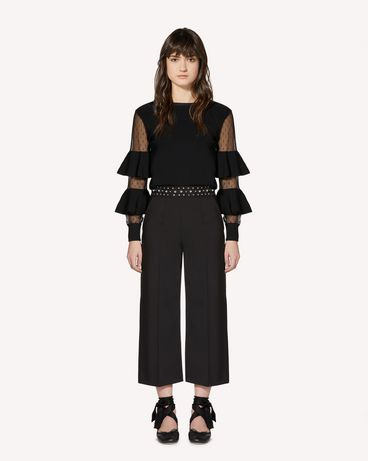 REDValentino SR0RBB5000J 0NO Trousers Woman f