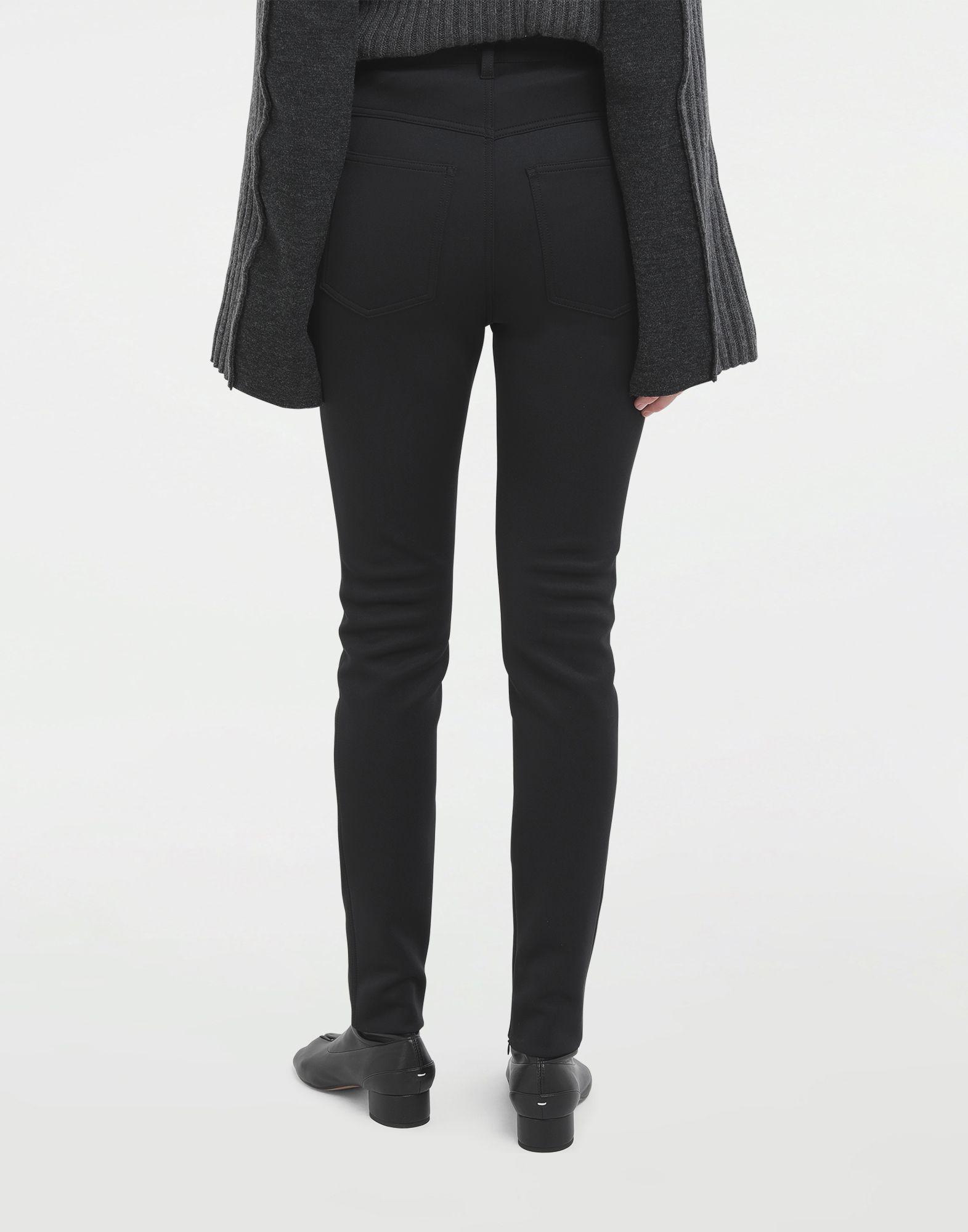 MAISON MARGIELA Skinny neoprene pants Casual pants Woman d