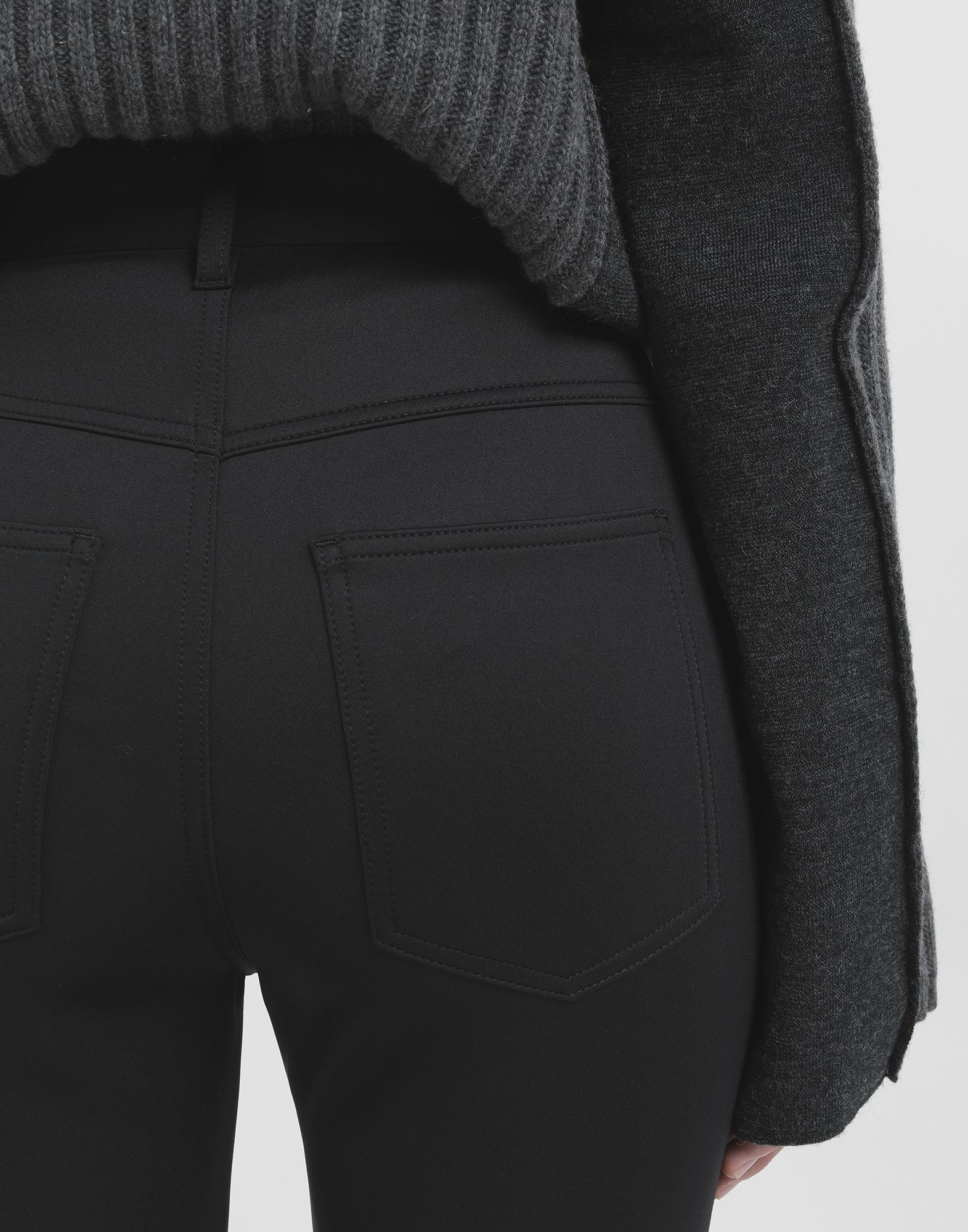 MAISON MARGIELA Skinny neoprene pants Casual pants Woman e