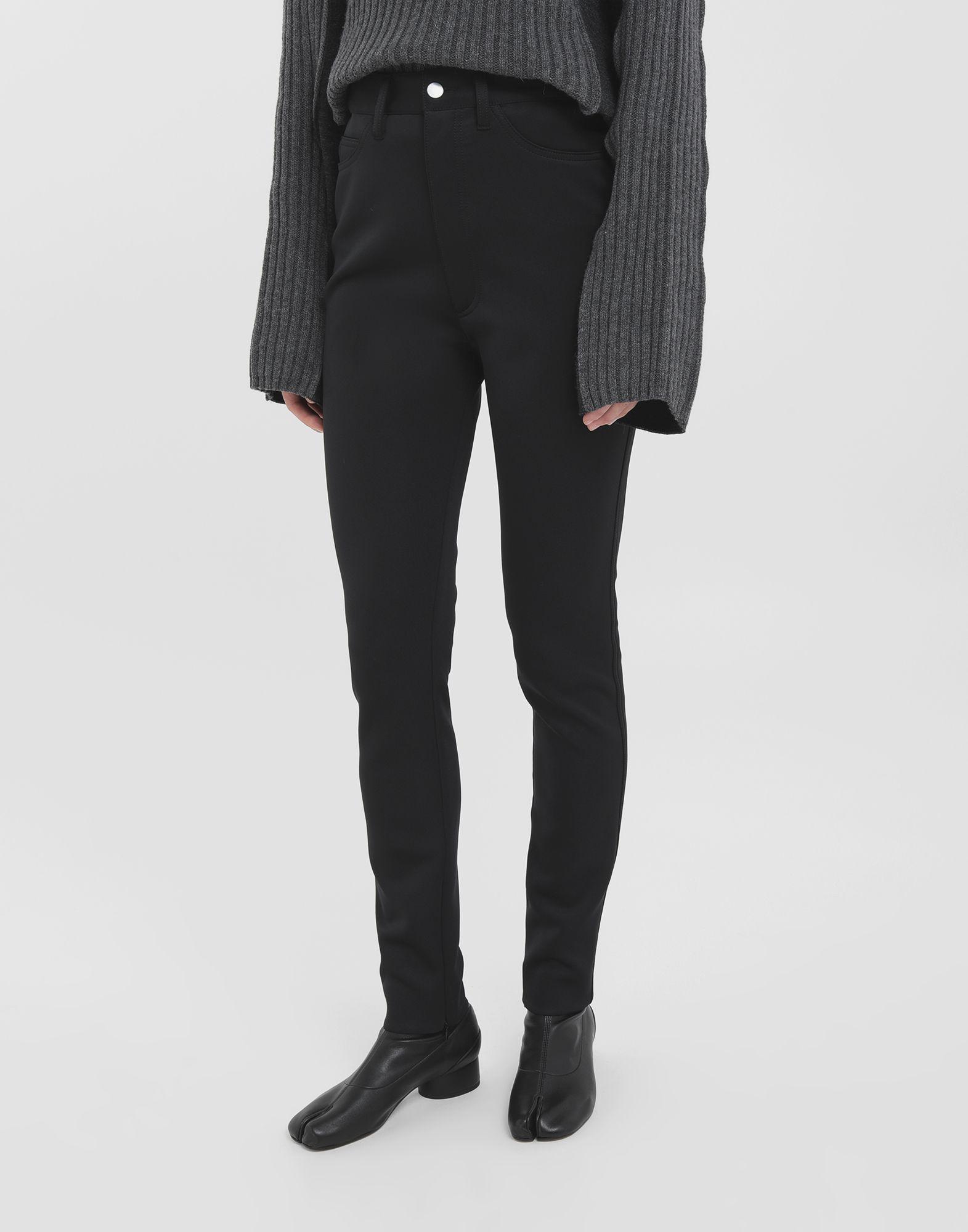 MAISON MARGIELA Skinny neoprene pants Casual pants Woman r