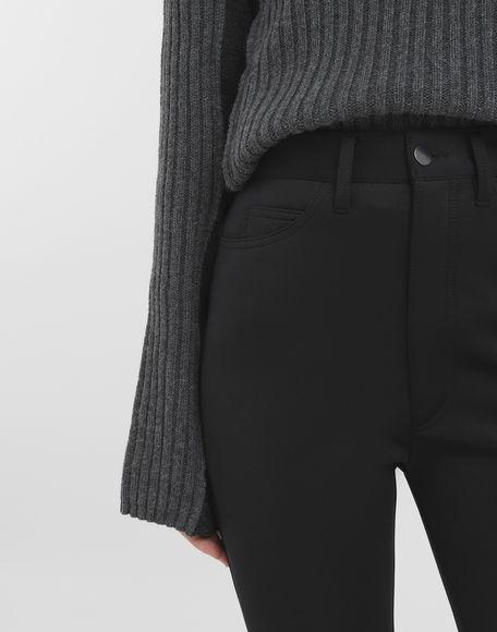 MAISON MARGIELA Skinny neoprene pants Casual pants Woman a